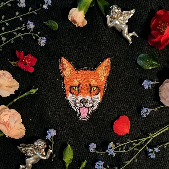 Fox Iron-On Patch