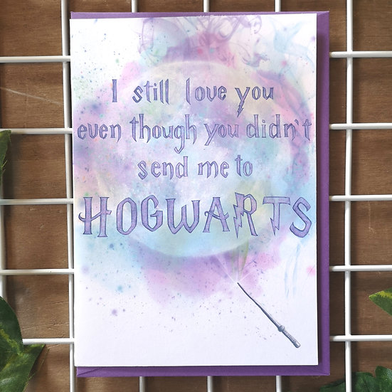 'Still love you - Hogwarts' Mother's Day Card A6