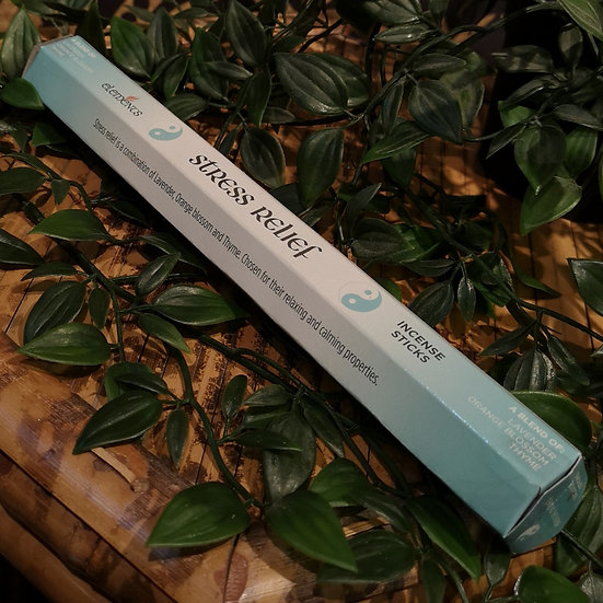 Stress Relief Blend Elements Incense Sticks