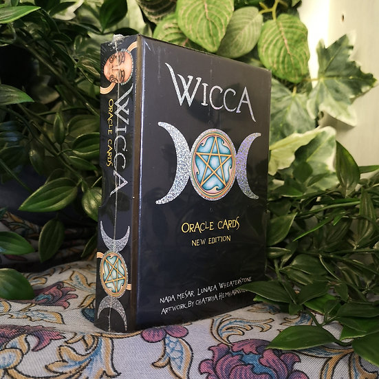 Wicca Oracle Cards Pagan Tarot Deck - Large