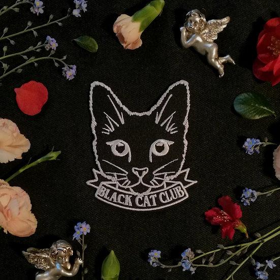 Black Cat Club Iron-On Patch
