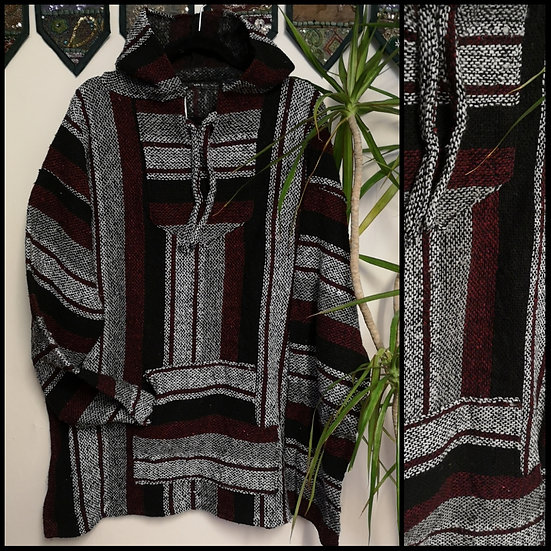 New Fairtrade Made in Mexico Unisex Baja Hoodie Size XXL