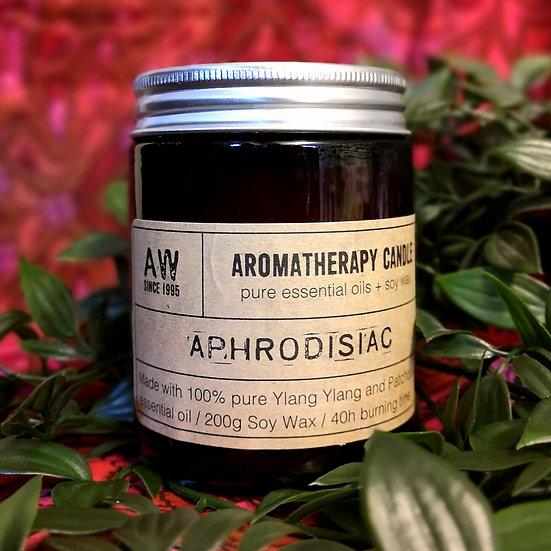 Aphrodisiac Aromatherapy Candle - Ylang Ylang & Patchouli