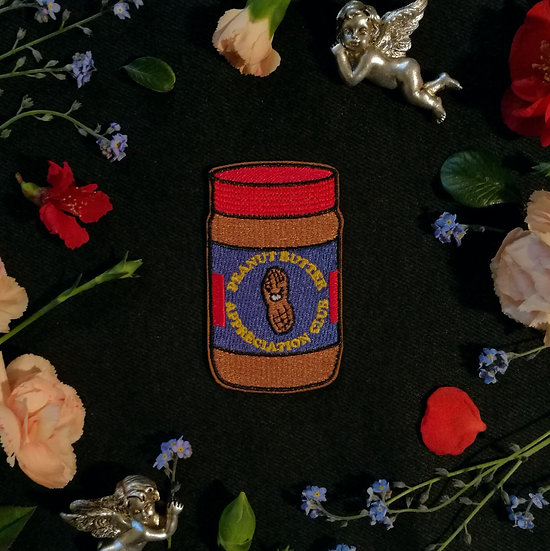 Peanut Butter Iron-On Patch
