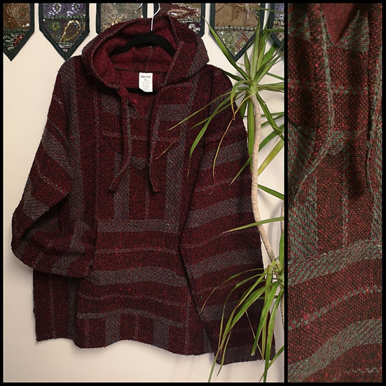 New Fairtrade Made in Mexico Unisex Baja Hoodie Size XL