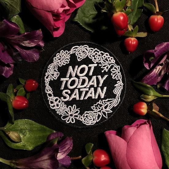 Not Today Satan Patch