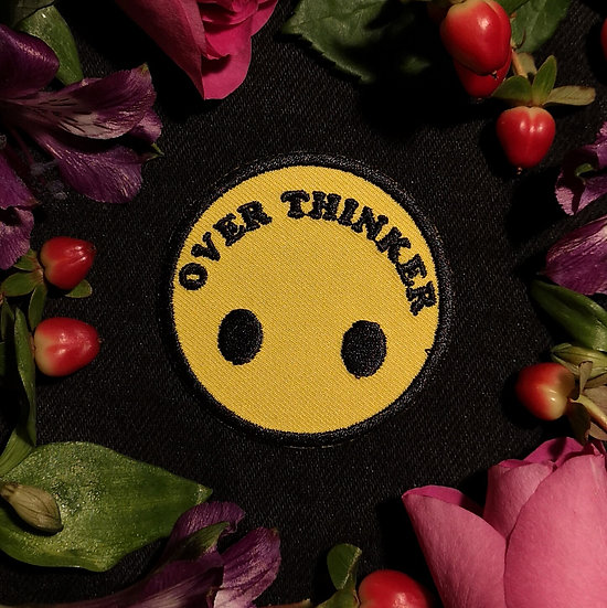 Over Thinker Smiley Patch