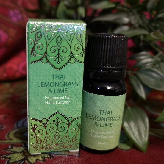 Thai Lemongrass and Lime Fragrance Oil 10ml