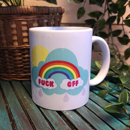 F*ck Off Rainbow Mug