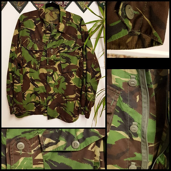 Vintage Retro Military Cargo Shirt Jacket Size M/L