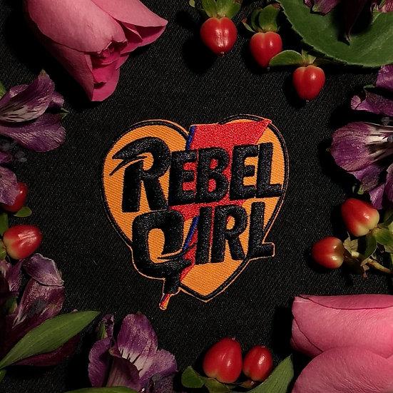 Rebel Girl Heart Patch