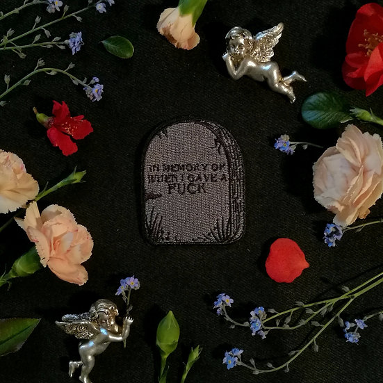 In Memory Iron-On Patch