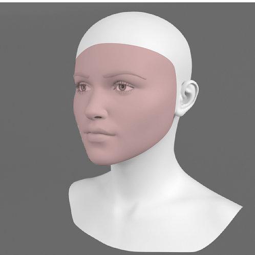 Depilação a Laser Rosto Inteiro Feminino - Pacote 10 sessões