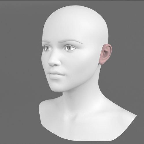 Depilação a Laser Orelha Feminino - Pacote 10 sessões