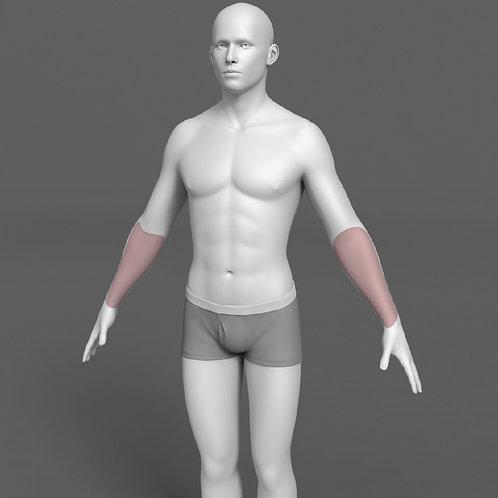 Depilação a Laser Antebraço Masculino - Pacote 10 sessões
