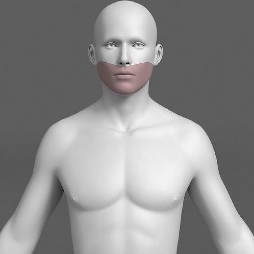 Depilação a Laser Barba Masculino - Pacote 10 sessões