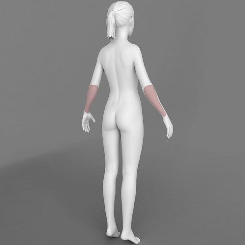 Depilação a Laser Antebraços Feminino - Pacote 10 sessões