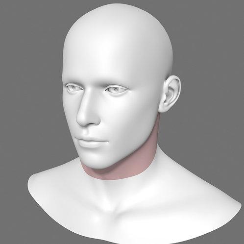 Depilação a Laser Faixa de Barba Masculino - Pacote 10 sessões