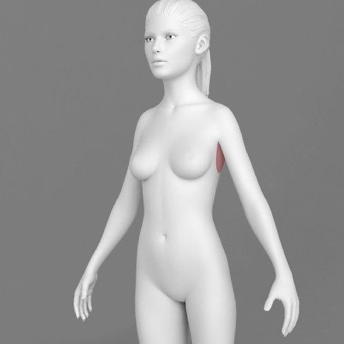 Depilação a Laser Axilas Feminino - Pacote 10 sessões