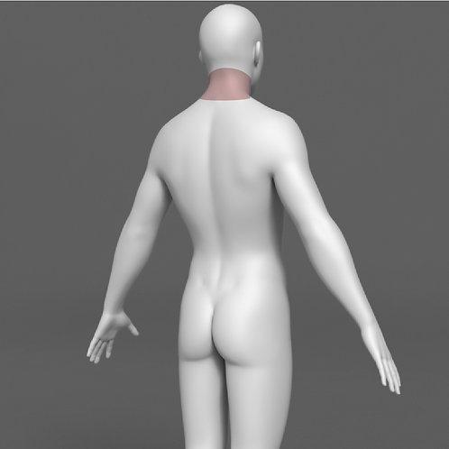 Depilação a Laser Nuca Masculino - Pacote 10 sessões