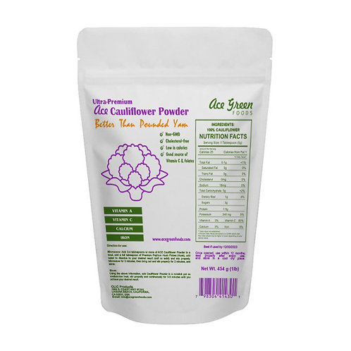 6 packs ACE Cauliflower Powder