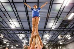 CHEER Colorado cheerleaders