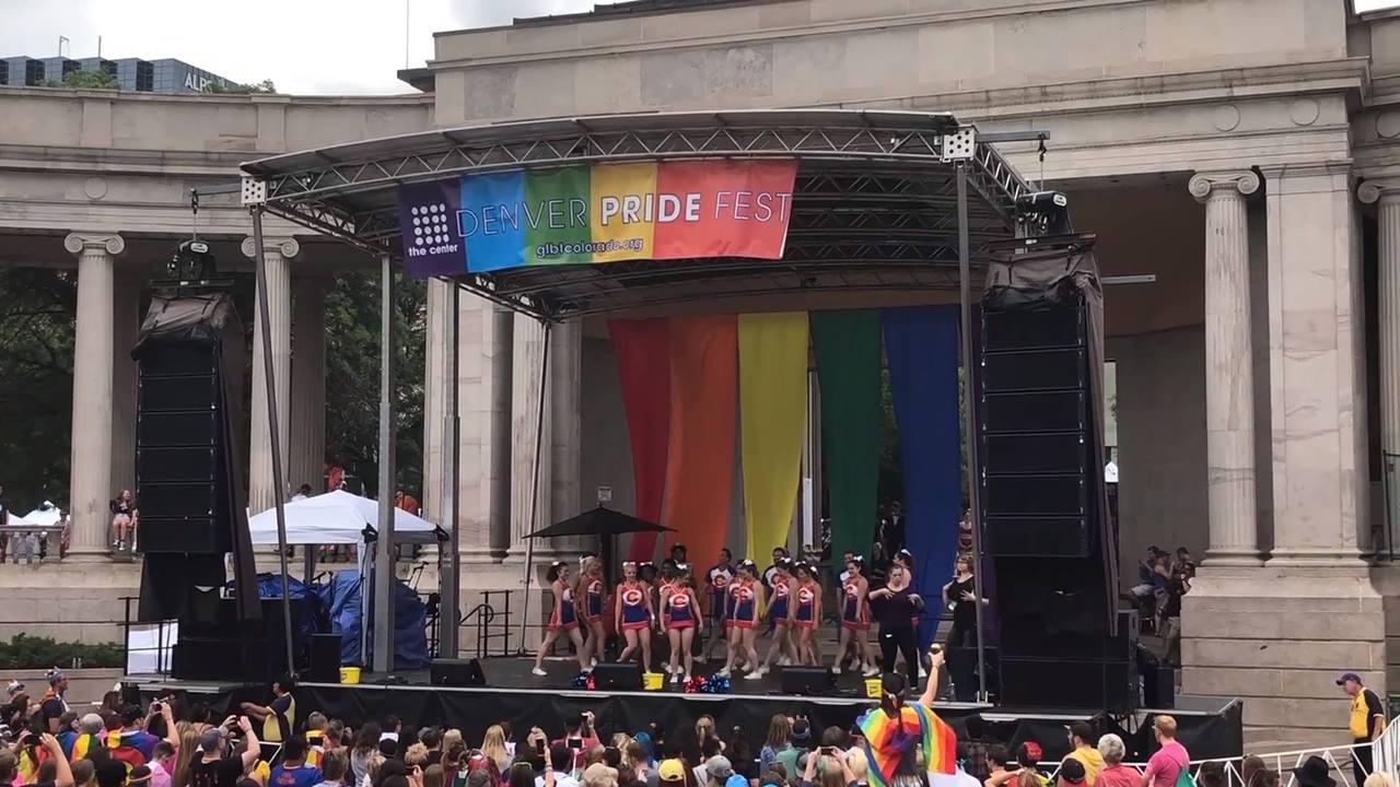 2018   Denver PrideFest Center Stage Performance