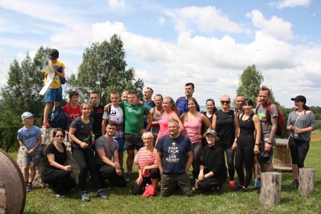 Sporta un aktīvā dzīvesveida nometne 07.07.- 08.07.2018. Saukas Dabas parks
