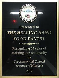 HHFP Community Plaque