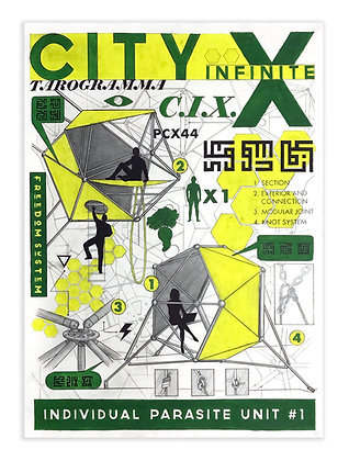 City Infinite X Parasite Unit