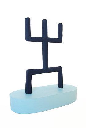Trophy Artefact (Blue Man)