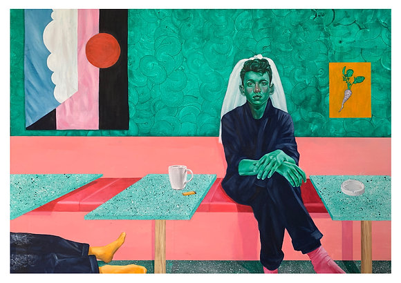 '3pm at Runders Bar' A4 Giclee Print (PREORDER)
