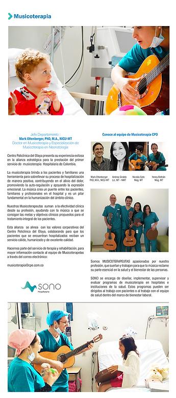 Musicoterapia en el Centro Policlínico del Olaya, SONO - Centro de Musicoterapia