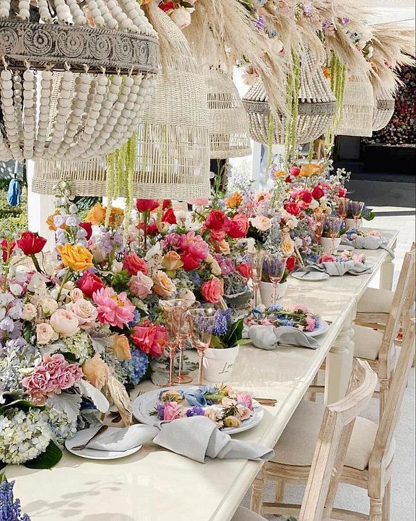 Floral Tablescape Ideas