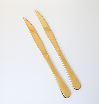 Gold Steak Knives