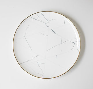 Marble Charger Plate