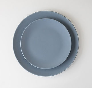 Slate Blue Dinnerware