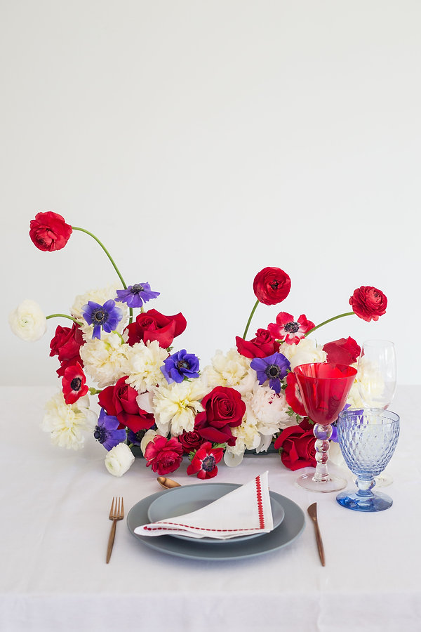 Fourth of july tabletop inspiration