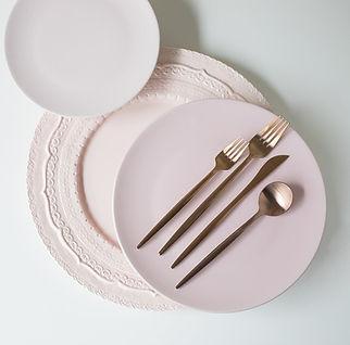Pink Dinnerware Inspiration