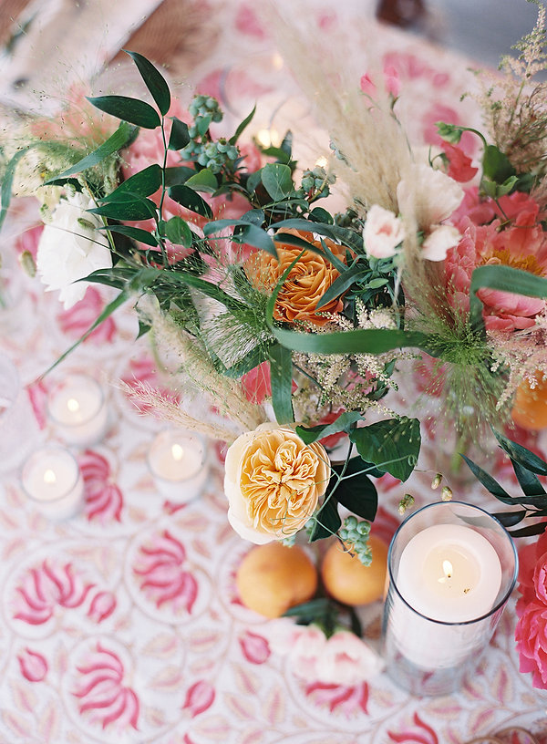 Beautiful Flowers and Linen