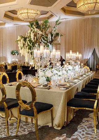 Four Seasons Orlando Reception Table Set