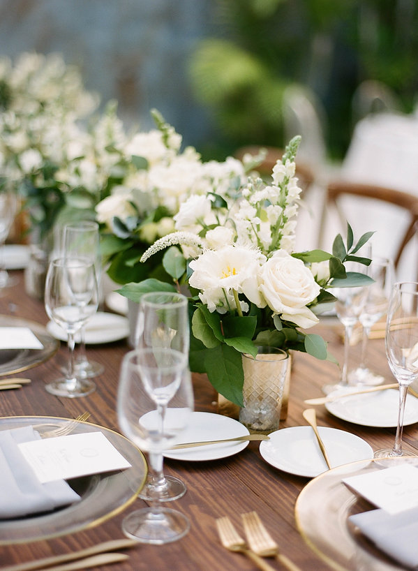 Beautiful floral centerpiece for wedding