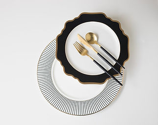 Black Dinnerware Inspiration
