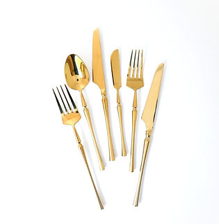 Gold Flatware in Miami