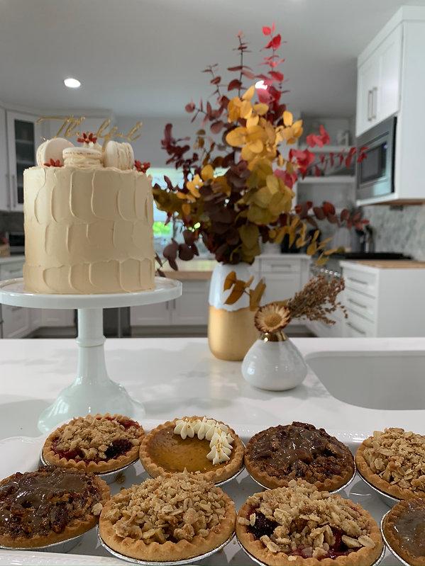 Thanksgiving dessert for the Bake Bar Miami