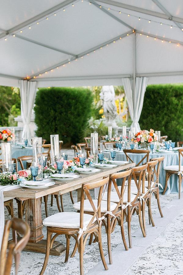 Vizcaya Museum and Gardens Wedding Reception