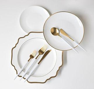 White Dinnerware Inspiration
