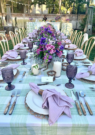 Anna Lucia Events Dinner Party