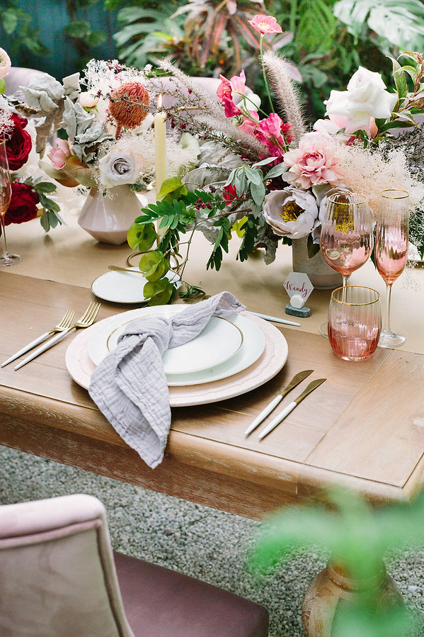 Elegant tablescape Ideas Miami