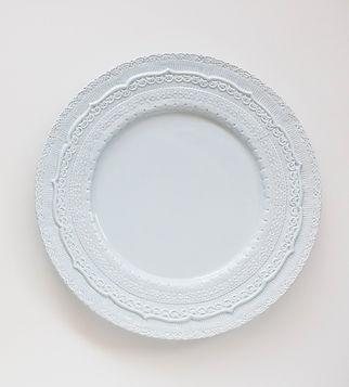beautiful blue plates